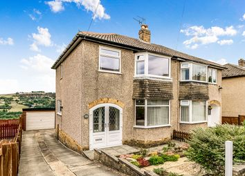 Thumbnail 3 bed semi-detached house for sale in Bronte Drive, Oakworth, Keighley