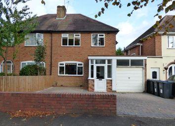 Thumbnail 3 bedroom semi-detached house for sale in Glen Rise, Kings Heath, Birmingham, West Midlands