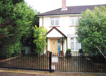 Thumbnail 4 bed semi-detached house to rent in Gainsborough Road, Old Malden, Worcester Park