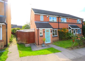 Thumbnail 3 bed town house for sale in Smart Close, Thorpe Astley, Braunstone, Leicester