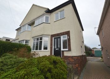 Thumbnail 3 bed property to rent in Cecil Road, Dronfield