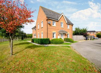 Thumbnail End terrace house for sale in Gladiator Close, Wootton, Northampton