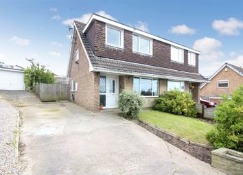 Thumbnail 3 bedroom semi-detached house for sale in Holland Road, Kippax, Leeds