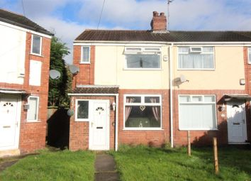 Thumbnail 2 bedroom end terrace house for sale in Roslyn Road, Hull