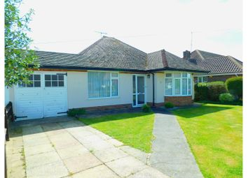 Thumbnail 2 bed semi-detached bungalow for sale in Harwood Avenue, Worthing