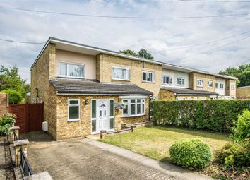 Thumbnail 3 bed end terrace house for sale in Nodes Drive, Stevenage, Hertfordshire