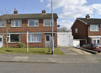 Thumbnail 3 bed semi-detached house for sale in Severn Road, Oadby