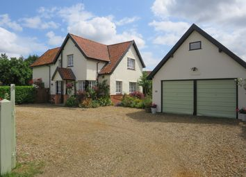 Thumbnail 3 bed detached house for sale in Besthorpe Road, Attleborough