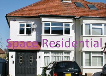 Thumbnail 3 bedroom semi-detached house to rent in Orchard Crescent, Edgware