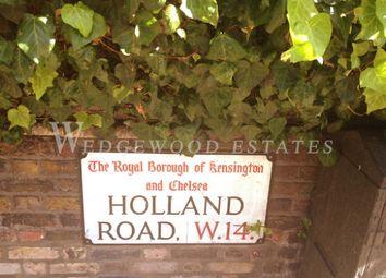 Thumbnail 2 bed maisonette to rent in Holland Road, Kensington, London