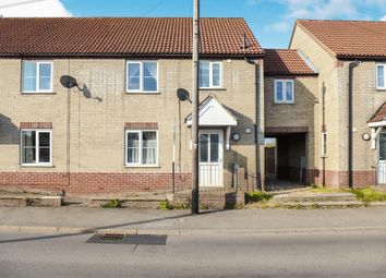 Thumbnail 3 bedroom terraced house for sale in Downham Road, Outwell, Wisbech