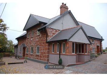 Thumbnail 4 bed detached house to rent in Dovaston, Kinnerley, Oswestry