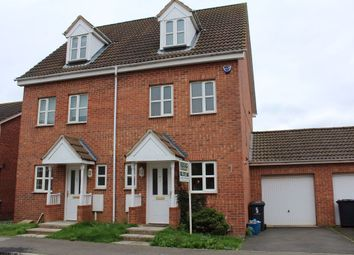 Thumbnail 3 bed property to rent in Hanbury Close, Daventry