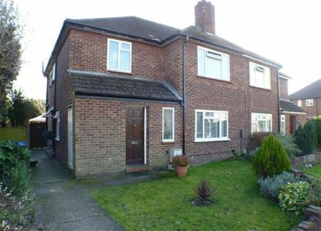 Thumbnail 2 bed maisonette for sale in Royston Road, Byfleet, Surrey