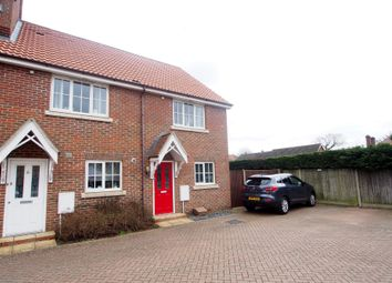 Thumbnail 2 bed terraced house for sale in Lobelia Close, Wymondham
