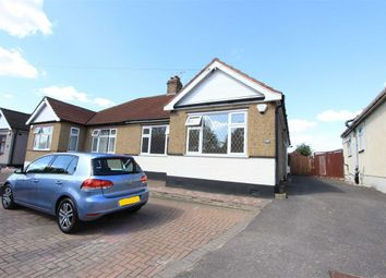 Thumbnail 3 bed semi-detached bungalow for sale in Aldborough Road South, Ilford, Essex