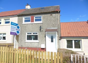 Thumbnail 2 bed terraced house for sale in Ballochnie Drive, Plains, Airdrie, North Lanarkshire