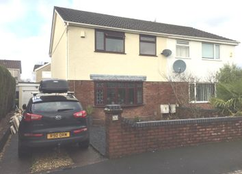 Thumbnail 3 bed semi-detached house for sale in Maesglas, Gorseinon, Swansea