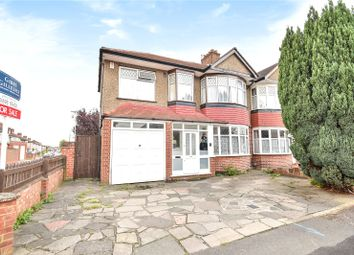 Thumbnail 4 bed semi-detached house for sale in Shenley Avenue, Ruislip, Middlesex