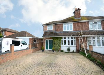 Thumbnail 3 bedroom semi-detached house for sale in Florence Road, College Town, Sandhurst