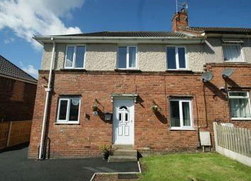 Thumbnail 2 bed terraced house for sale in Lyndhurst Avenue, Blidworth, Mansfield