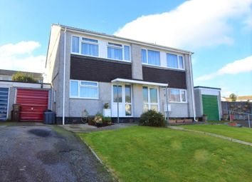 Thumbnail 3 bed semi-detached house for sale in Courtney Road, Liskeard, Cornwall