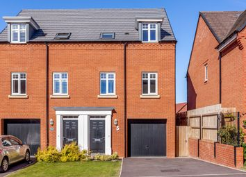 Thumbnail 3 bed semi-detached house for sale in Badger Crescent, Whitchurch, Cheshire East