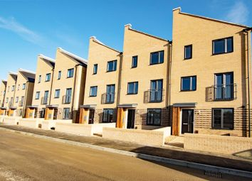 Thumbnail 4 bed town house to rent in Claudius Walk, Northstowe