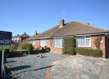 Thumbnail 2 bed semi-detached bungalow for sale in Terringes Avenue, Worthing, West Sussex