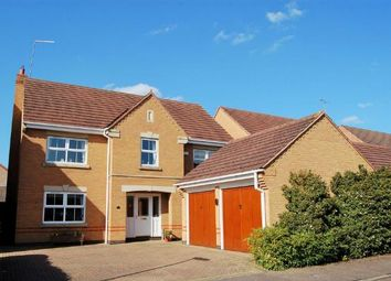 Thumbnail 4 bedroom detached house for sale in Lynmore Close, Hunsbury Meadows, Northampton