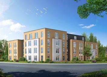 Thumbnail 1 bed flat for sale in Woolhampton Drive, Basingstoke