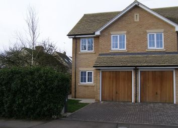 Thumbnail 3 bedroom semi-detached house to rent in Back Lane, Eynsham, Witney