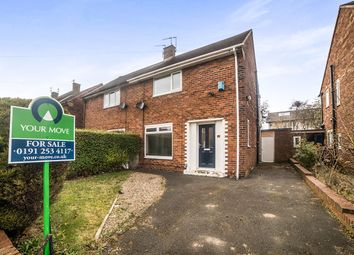 Thumbnail 2 bed semi-detached house for sale in Cragside Avenue, North Shields
