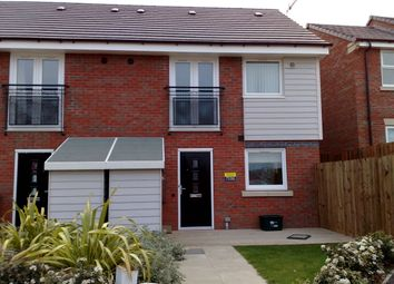 Thumbnail 1 bed town house for sale in Padside Close, Leicester