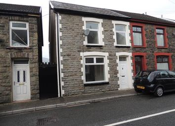 Thumbnail 3 bedroom end terrace house for sale in Ynyscynon Road, Trealaw, Tonypandy