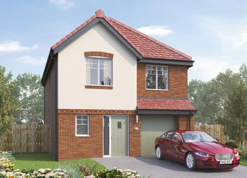 "Thumbnail 4 bed detached house for sale in ""The Ashbury"" at Skinner Street, Creswell, Worksop"