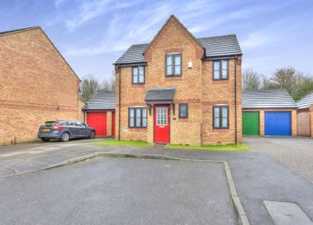Thumbnail 3 bedroom detached house for sale in Tynemouth Rise, Monkston, Milton Keynes