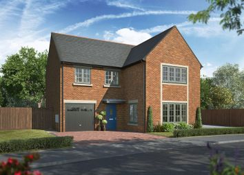 Thumbnail 4 bed detached house for sale in Hepscott Park, Morperth