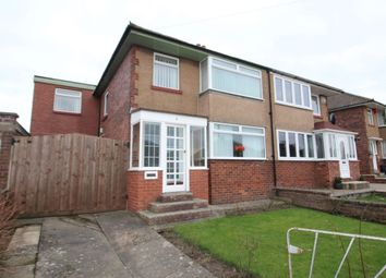 Thumbnail 4 bed semi-detached house for sale in Beaumont Road, Carlisle