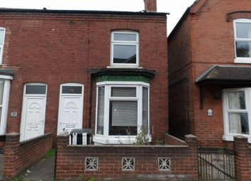 Thumbnail 2 bed terraced house for sale in Calais Road, Burton-On-Trent, Staffordshire