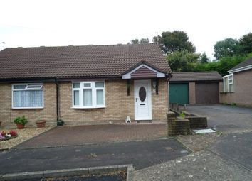 Thumbnail 2 bed semi-detached bungalow to rent in Hollyrood Close, Barry
