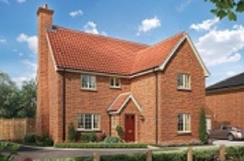 Thumbnail 4 bed detached house for sale in Broomfield Road, Stoke Holy Cross