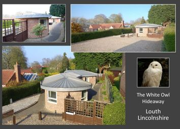Thumbnail 2 bed detached bungalow for sale in The Hideaway, Little Crowtree Lane, Louth