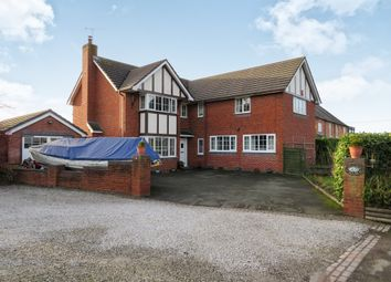 Thumbnail 6 bed detached house for sale in Nantwich Road, Tarporley, Calveley