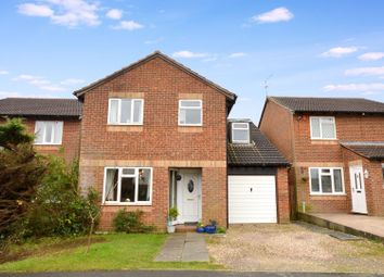 Thumbnail 4 bed detached house for sale in Hensman Close, Fleckney, Leicester
