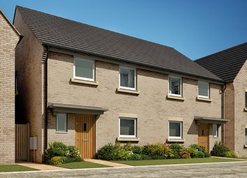 """Thumbnail 3 bedroom semi-detached house for sale in """"The Eveleigh"""" at Heron Road, Northstowe, Cambridge"""