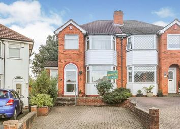 Thumbnail 3 bed semi-detached house for sale in Dovercourt Road, Sheldon, West Midlands, Birmingham