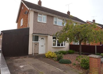 Thumbnail 3 bed semi-detached house for sale in Lincoln Drive, Wigston