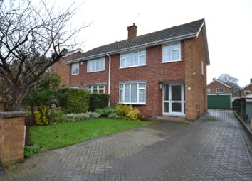 Thumbnail 3 bed semi-detached house for sale in Martin Avenue, Barrow Upon Soar, Leicestershire