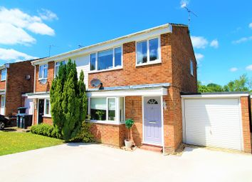 Thumbnail 3 bed semi-detached house for sale in Hazel Way, Crawley Down, Crawley, West Sussex.